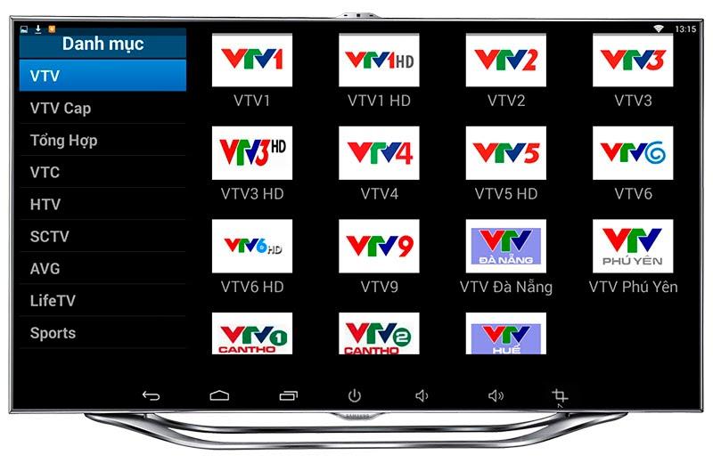 lắp đặt android tv box tại Biên Hòa